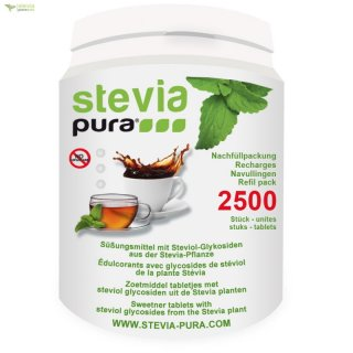 2500 Stevia Tabs-Tablets Refill Pack