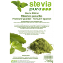 Dried Stevia rebaudiana - micro fine leave powder, 100g